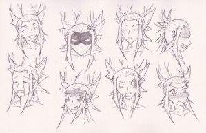Rika - some expressions by Artep89