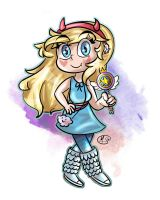 Star Butterfly by TheEmeraldCat131