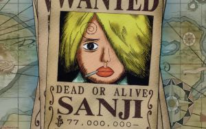 One Piece - Sanji Wanted by DharionDrahl