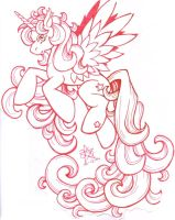 My little pony pegasus by daisyamnell