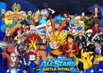 Anime All Star Battle Royale by SuperSaiyanCrash