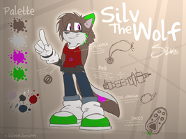 Silv The Wolf '13-'14 by SilverSonic44