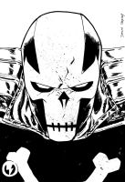 CROSSBONES Headshot by DeclanShalvey