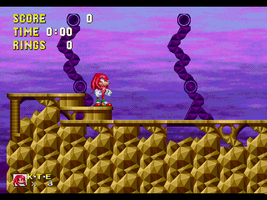 SK2 - Lost Ruins Zone Act 1 w/o title card by OMGWEEGEE2