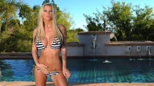 Brooke Banner Pool Action by sexyhotpp