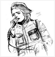 .Gerard Way - sketch by visual-sick