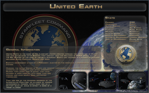 United Earth Spec Sheet by Majestic-MSFC