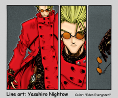 Trigun: Vash's Determination by EdenEvergreen