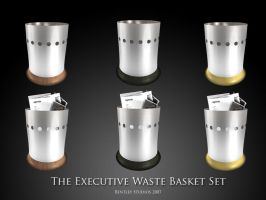 Executive Waste Baskets by thebigbentley