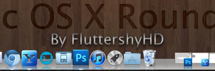 OS X Rounded Theme for ObjectDock by FluttershyHD