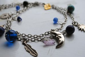 Selene anklet by the-girls-upstairs