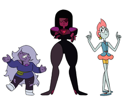 The Crystal Gems [Pilot Style] by StarTrippy