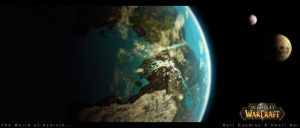 Azeroth From Space byquantsini by warcraft