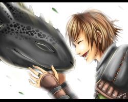 How To Train Your Dragon 2 - Hiccup and Toothless by Hikariuta
