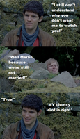 Because we're still not married - Merthur by FreakyFangirl97