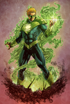 Green Lantern Earth 2 by Hitotsumami