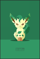 Leafeon : CDLXX by WEAPONIX