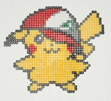 Pokemon Bead: Pikachu Caps by Titovn