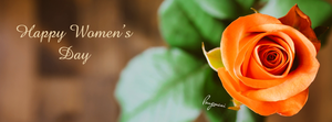 Happy Women's Day FB Cover by LMA-Design