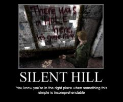 Silent Hill demotivational by ChrisLoland