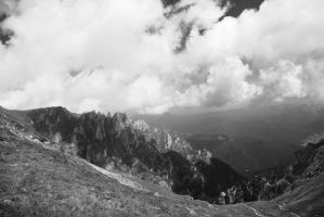 Bucegi Mountains VII by PurplePoisonDust