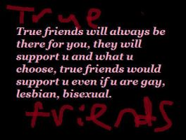 True Friend's Quote by Sakurafangurl2009