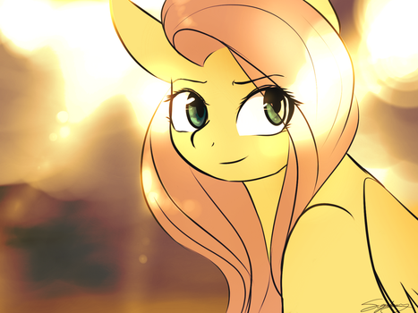 She is the Sunlight by SugarberryArt