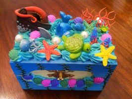 Ocean Deco Box by BloodTypeBPositive