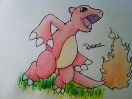 Kanto no. 005 Charmeleon by Randomous