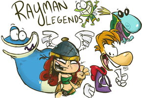 Rayman Legends by iceclimbers87