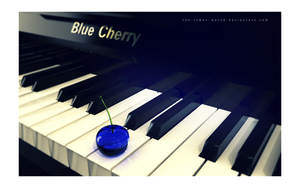 Piano Blue Cherry by THE-LEMON-WATCH