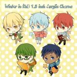KnB Acrylic Keychains by carrot-milk