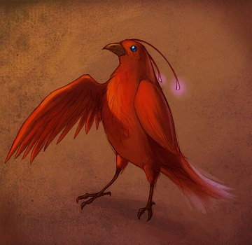 Red Crow by MEISerenade