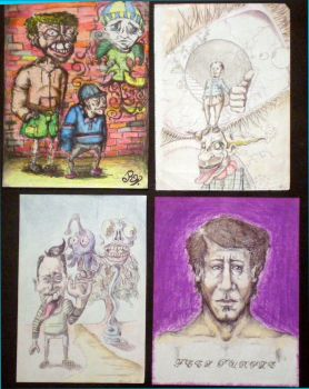 Four Sketches by BIGrem