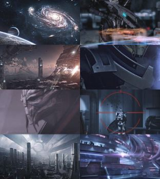 Mass Effect: Traks {Collage} by Andaro