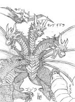 Ghidorah T3HM 1.0 by Metallian1990