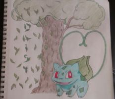 Colored Pencils~  Bulbasaur! by Blancoart89