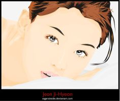 Jeon Ji-Hyeon by Sagarainside