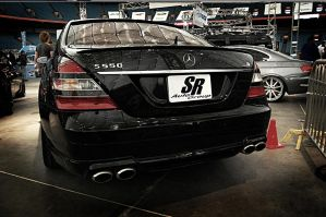 Mercedes Benz S550 AMG by bleaches