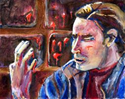 Drawing Concentration 7 by Meloncov