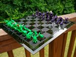 Little Fat Cthulhu Chess Set by LittleFatDragons
