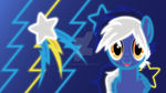 Blue Blaze - Neon Wallpaper by MysteriousKaos