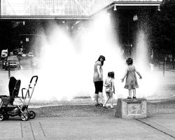 At the Fountain by patrick-brian