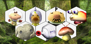 SSB4 Pikmin Series Roster by The-Koopa-of-Troopa