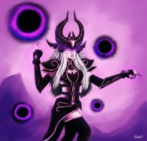 Syndra the Dark Soreveign- League of Legends by Deeego