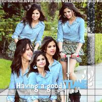 Selena Marie Gomez is having a good time by Cosiitasparatublog