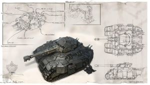 Michalkus-mow2-alliance-siege-tank by MichalKus