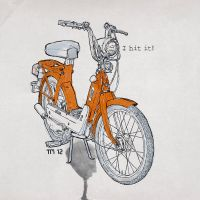 Orange Piaggio Vespa Ciao Ciclomotori by monkeycrisisonmars