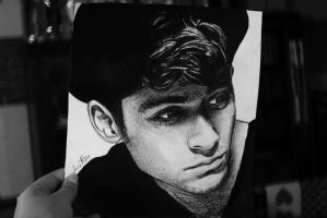 Zayn Malik drawing by Bluecknight