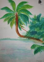 I Love Palm Trees 1988 by Shannonkaiser